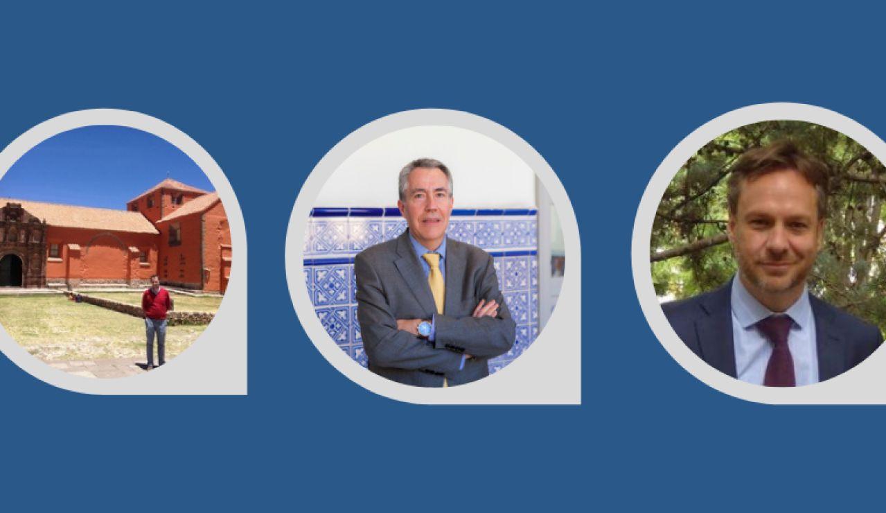 Víctor Luis De Nicolás, José María Ortiz Lozano y Pedro César Martínez Morán