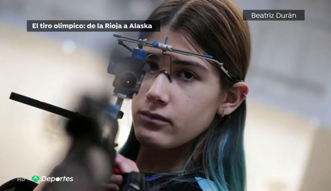 Marine González Mazo, de disparar en la feria a convertirse en una de las mejores en tiro olímpico