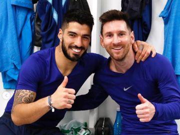 """Leo Messi arremete contra el Barcelona en su mensaje de despedida de Luis Suárez: """"Ya no me sorprende nada"""""""
