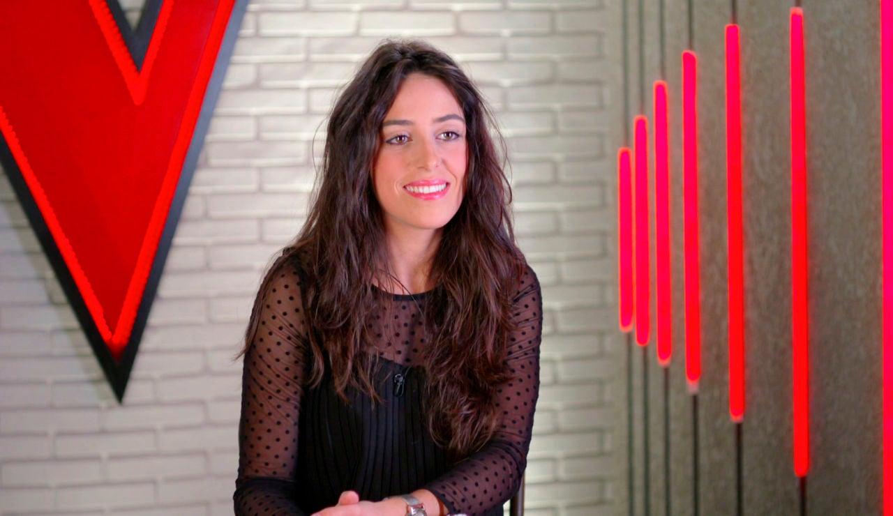 """Virginia Elósegui: """"Tuve la oportunidad de grabar con Pablo Alborán"""""""