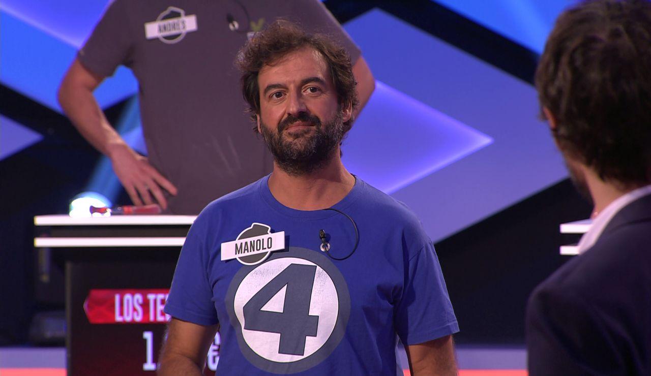 La camiseta de Manolo traslada a 'Los dispersos' a su primer casting de '¡Boom!'