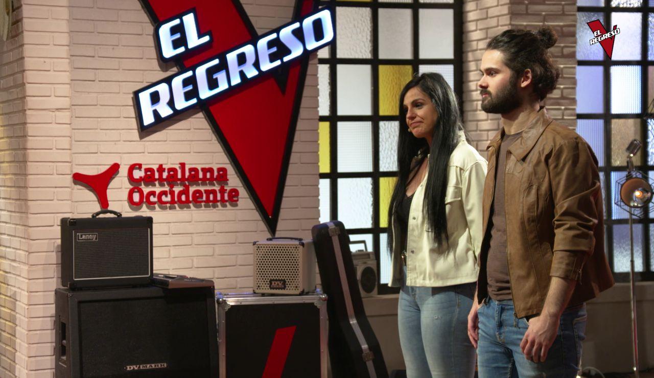 El duelo entre Gema Contreras y Samuel García en 'El Regreso'