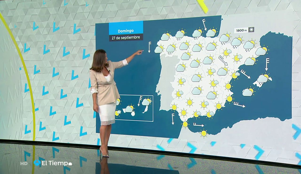 Tu Tiempo (26-09-20) Lluvias persistentes y nieve en zonas del extremo norte