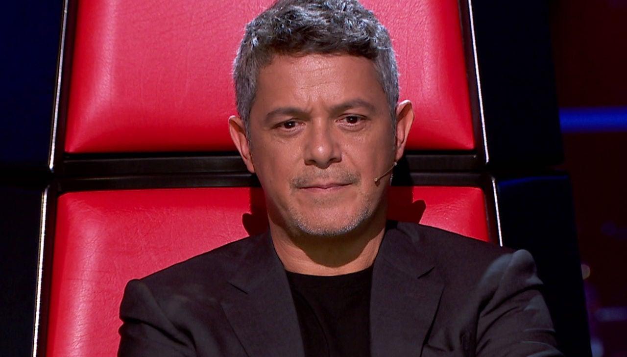 Alejandro Sanz, bloqueado por Antonio Orozco en 'La Voz'