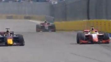 Imposible no recordar a su padre: el épico adelantamiento de Mick Schumacher para seguir líder en Fórmula 2
