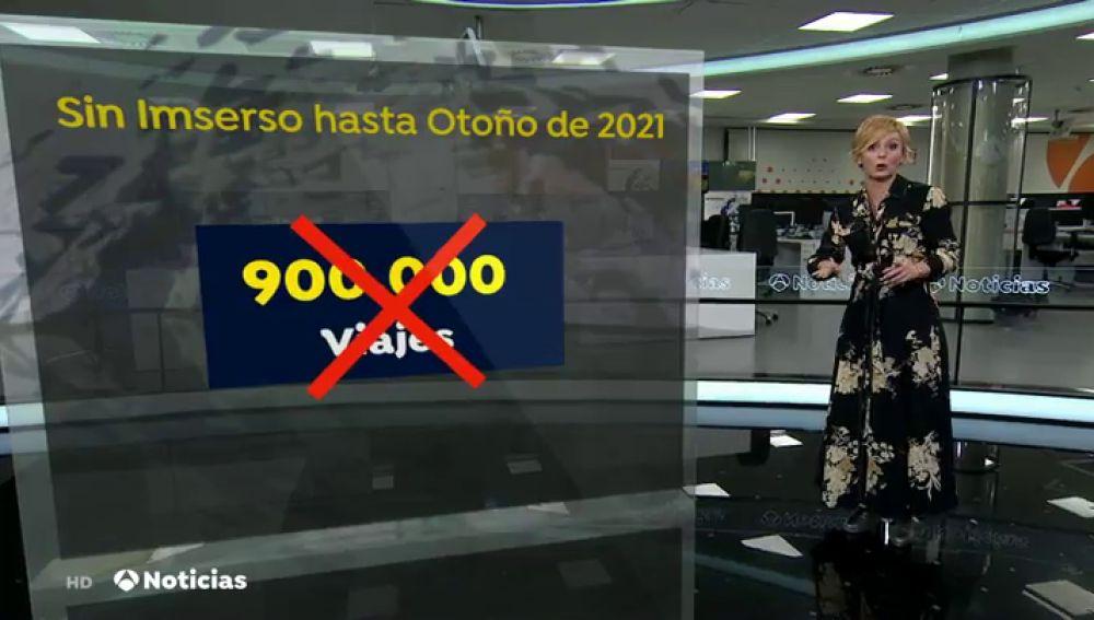 Sin vender 900.000 plazas del Imserso, el desastre para miles de empresas