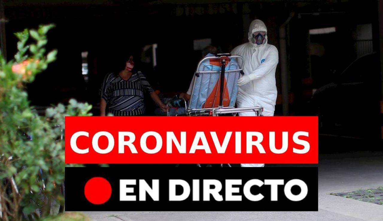 Coronavirus en España: Datos hoy, últimas noticias, rebrotes y última hora, en directo