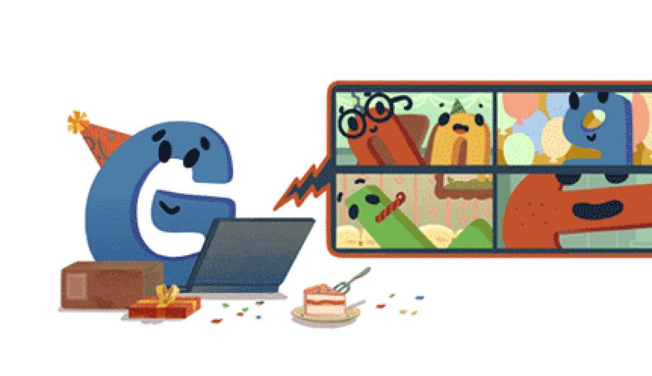Google cumple 22 años