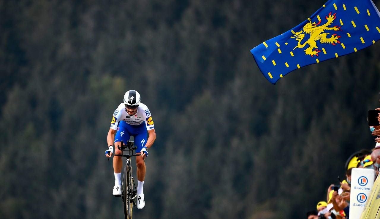 Julian Alaphilippe se proclama campeón del mundo de ciclismo