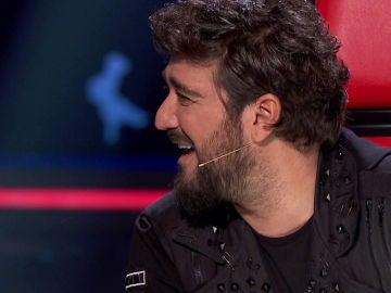Antonio Orozco, impresionado con el poder de convicción de Laura Pausini en 'La Voz'