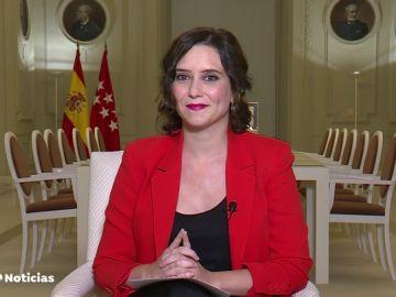 """Isabel Díaz Ayuso pide una ley de pandemias ante el coronavirus: """"El confinamiento total no es posible en Madrid"""""""