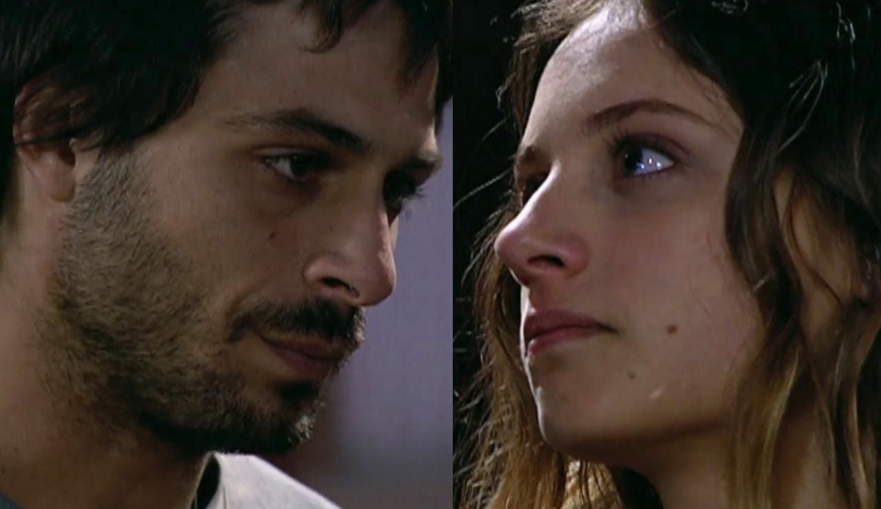 Primer beso de Sara y Lucas en 'Los hombres de Paco'