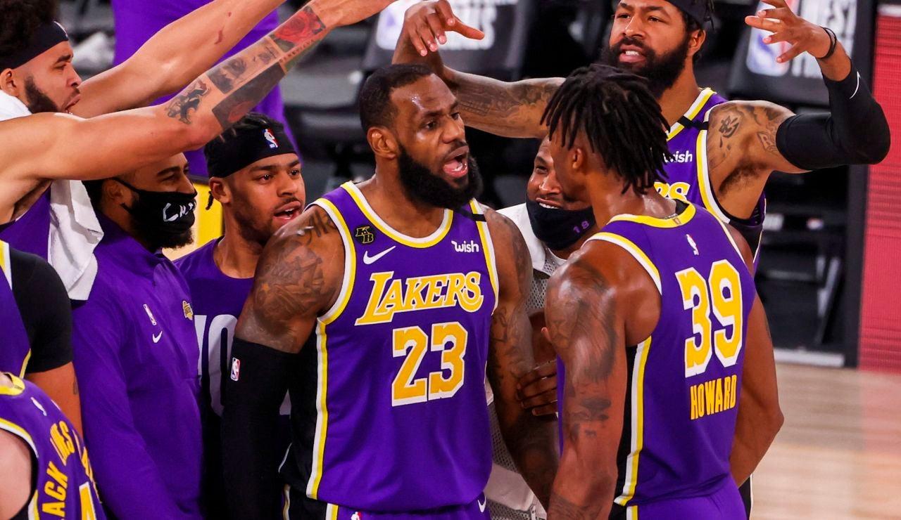 Los Lakers, a la final de la NBA liderados por un gran LeBron