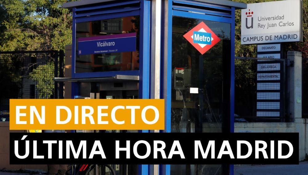 Coronavirus Madrid: Confinamiento, nuevos casos y noticias de última hora hoy, en directo