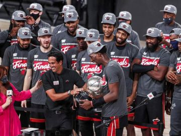 Los Miami Heat serán los rivales de los Angeles Lakers en las Finales de la NBA 2020