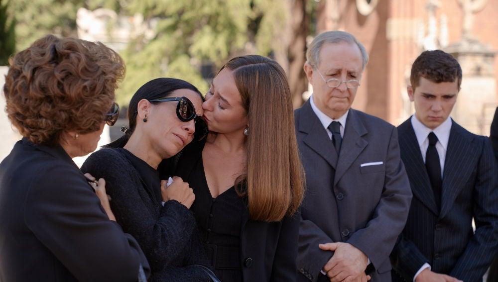El doloroso reencuentro de Luisita con su familia