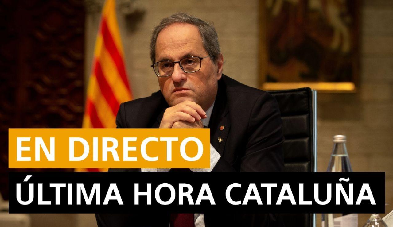 Cataluña: Inhabilitación de Quim Torra, nuevos casos de coronavirus y noticias de última hora, en directo