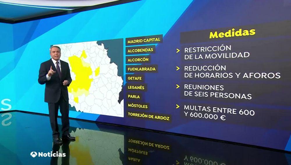 Multas por incumplir el estado de alarma en Madrid: ¿Cuánto hay que pagar y cuándo empiezan a multar?