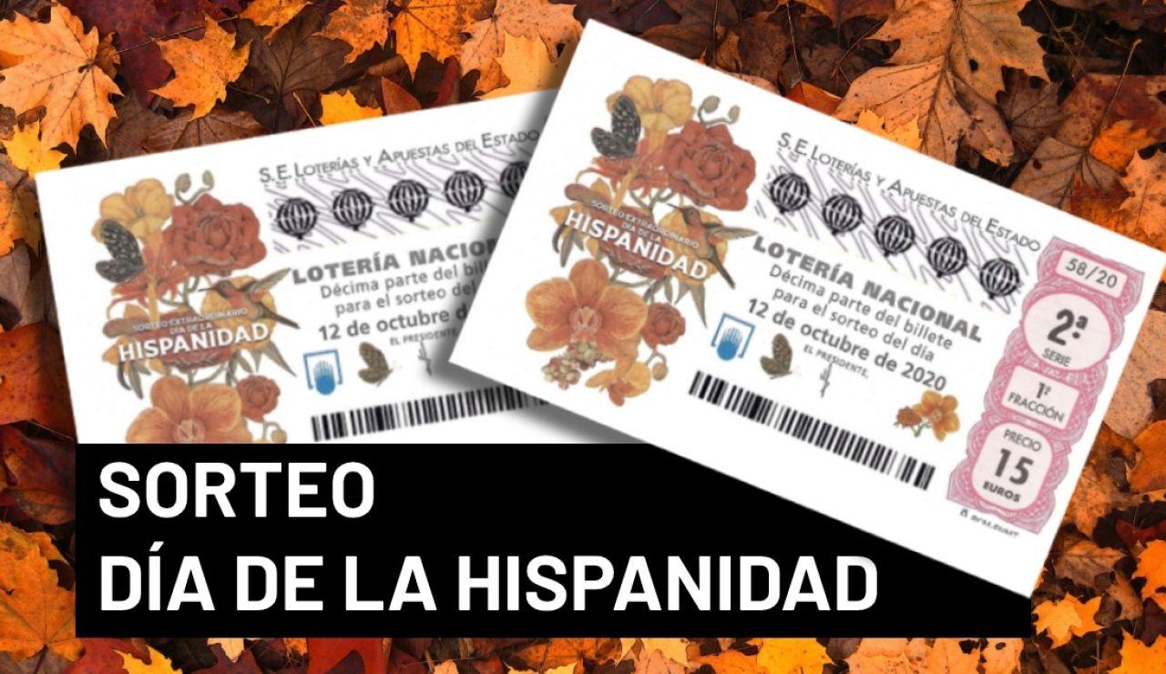 Sorteo Extraordinario del Día de la Hispanidad 2020: Premios del sorteo del 12 de octubre de la Lotería Nacional