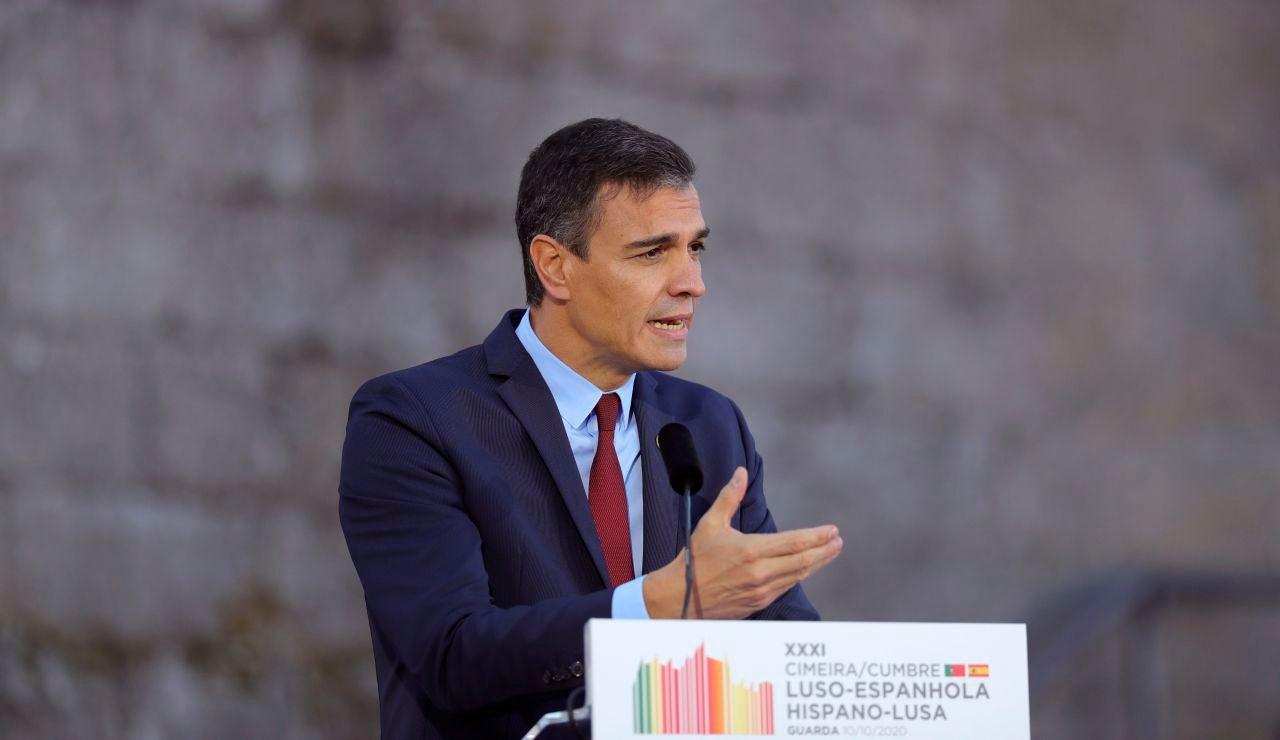 Pedro Sánchez en Portugal