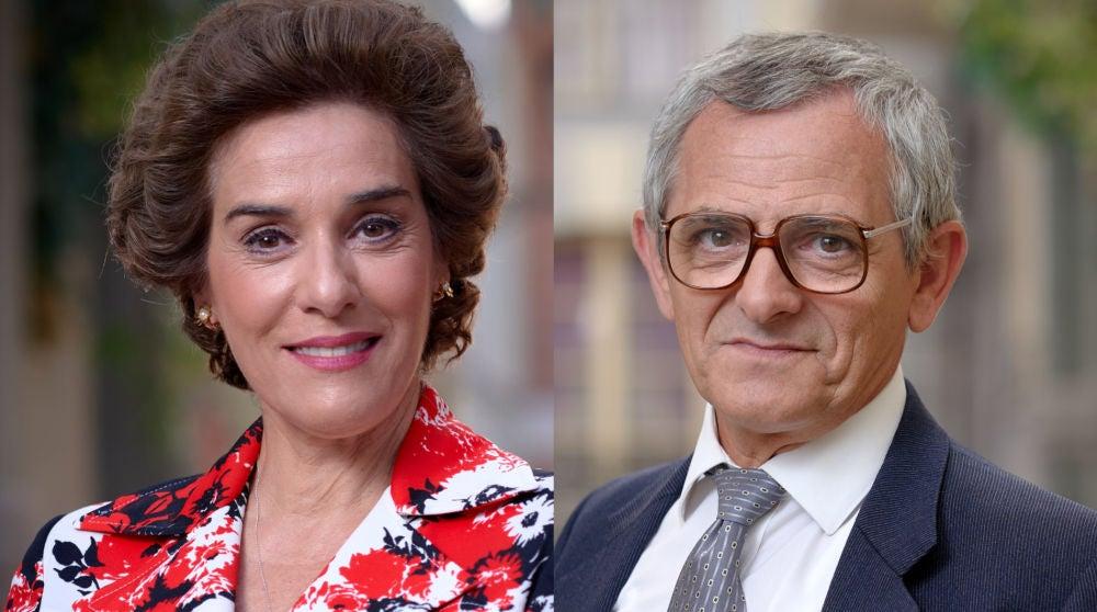 Anabel Alonso e Iñaki Miramón son Benigna y Quintero en 'Amar es para siempre'