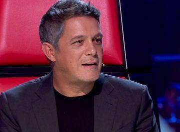 Alejandro Sanz protagoniza un insólito momento con un miembro del público en 'La Voz'
