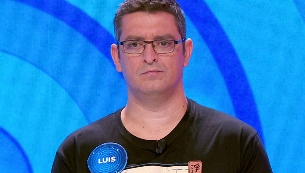 Luis, concursante de 'Pasapalabra'