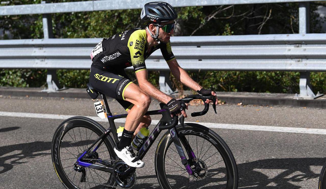 El ciclista Simon Yates da positivo en coronavirus y abandona el Giro de Italia