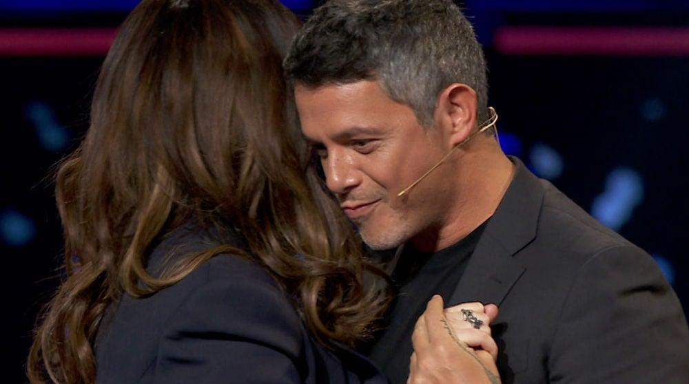 ¡Pura magia! El baile de película de Alejandro Sanz y Laura Pausini en 'La Voz'