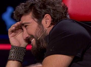 Los despistes de Antonio Orozco desatan las risas de sus compañeros en 'La Voz'