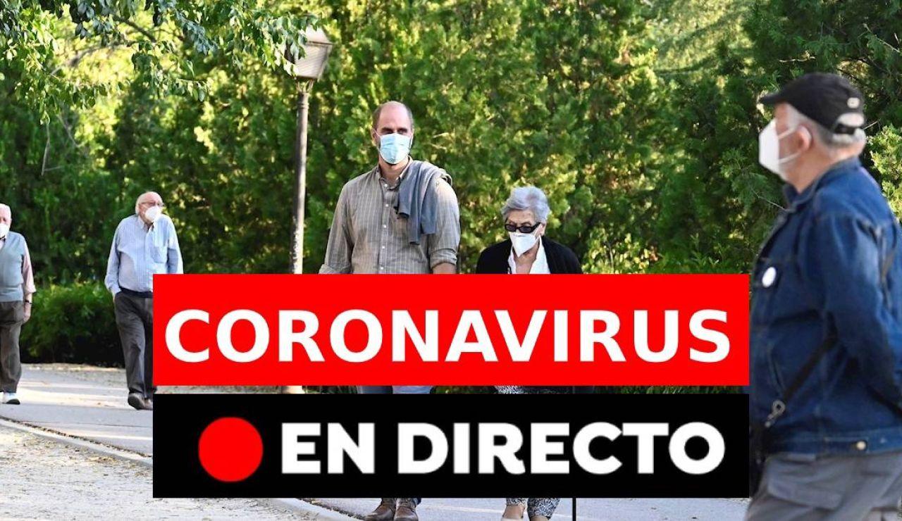 Últimas noticias del coronavirus en España el domingo 11 de octubre, última hora en directo