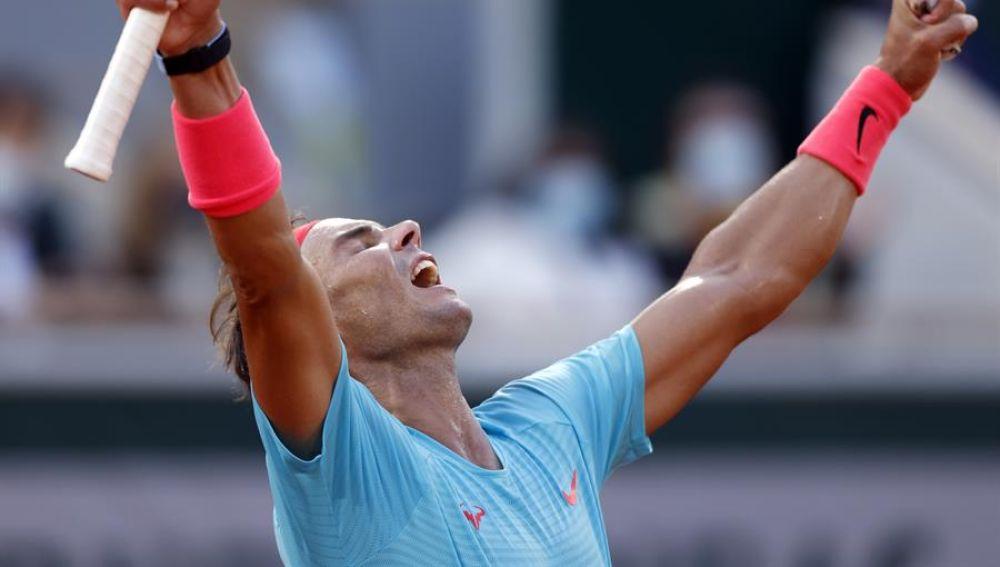 Rafa Nadal, en Roland Garros