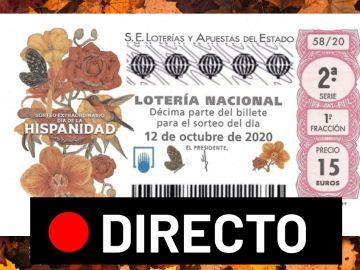 Sorteo Extraordinario del Día de la Hispanidad 2020: Resultado de la Lotería Nacional del 12 de octubre en directo