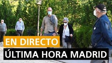 Coronavirus Madrid hoy: Actos por el 12 de octubre, rebrotes y última hora en directo