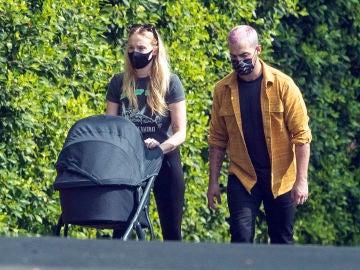 El paseo familiar de Sophie Turner y Joe Jonas