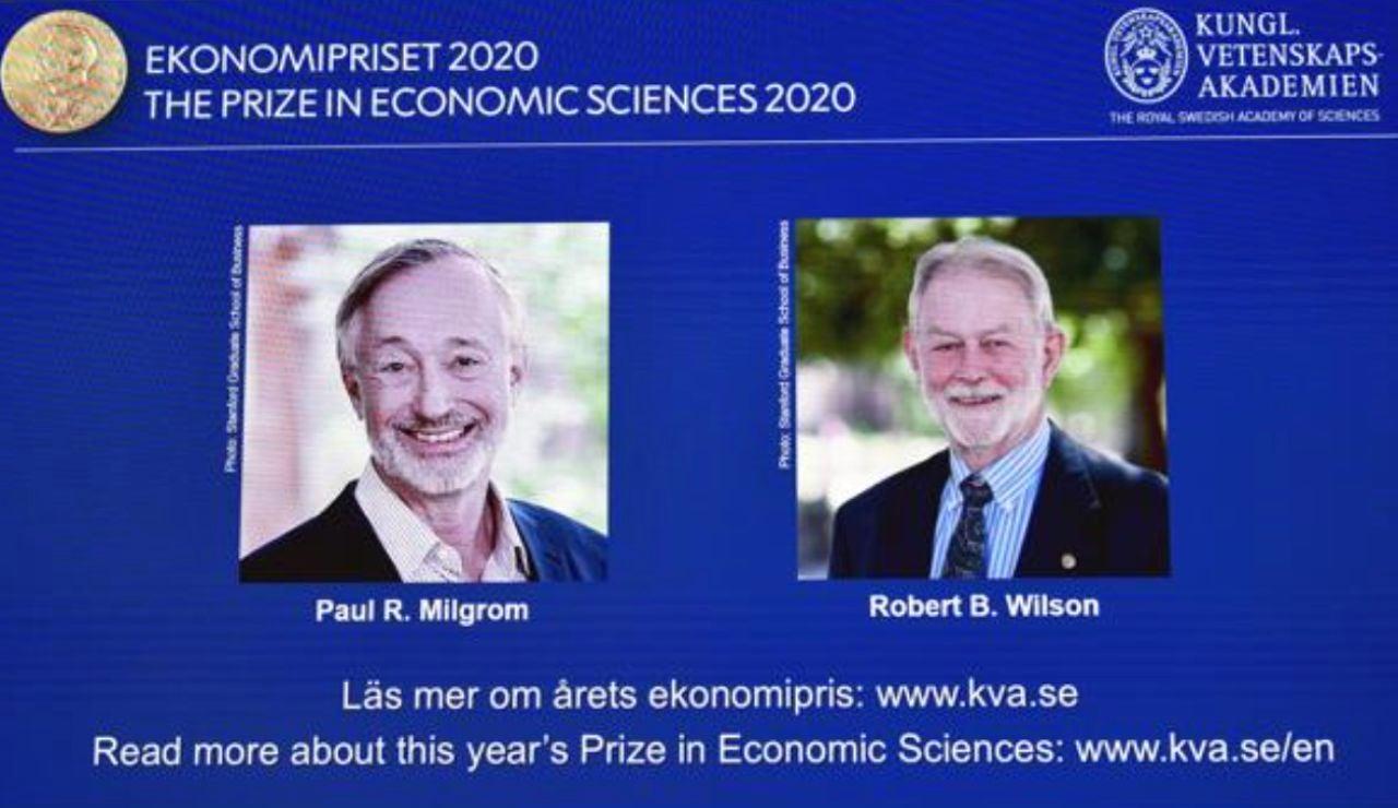 Premio nobel de economía 2020