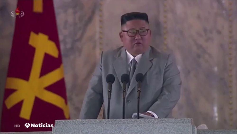 Kim Jong-un se emociona en un acto y pide perdón a los norcoreanos