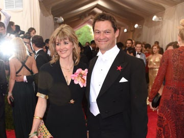 Dominic West y su mujer Catherine FitzGerald