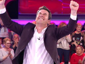 Una concursante hace historia en '¡Ahora caigo!' logrando un hito soñado por Arturo Valls