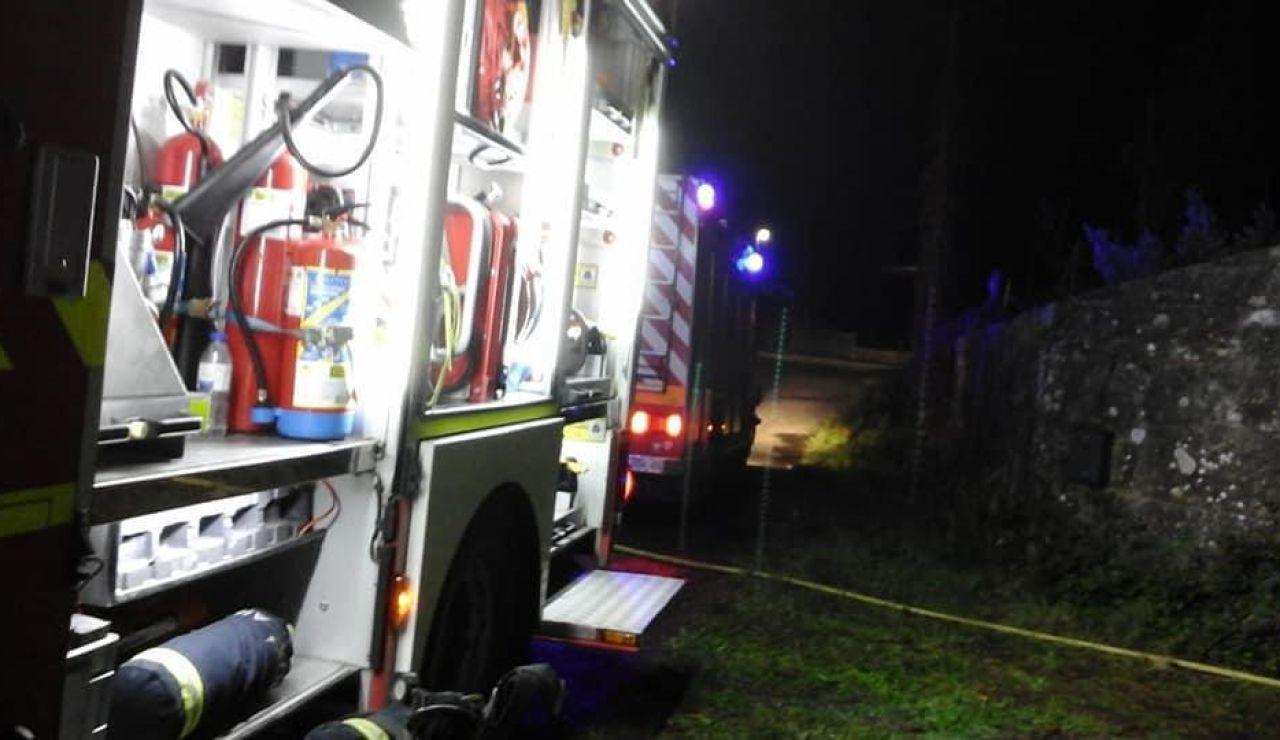 Incendio en la casa donde fue asesinada Asunta