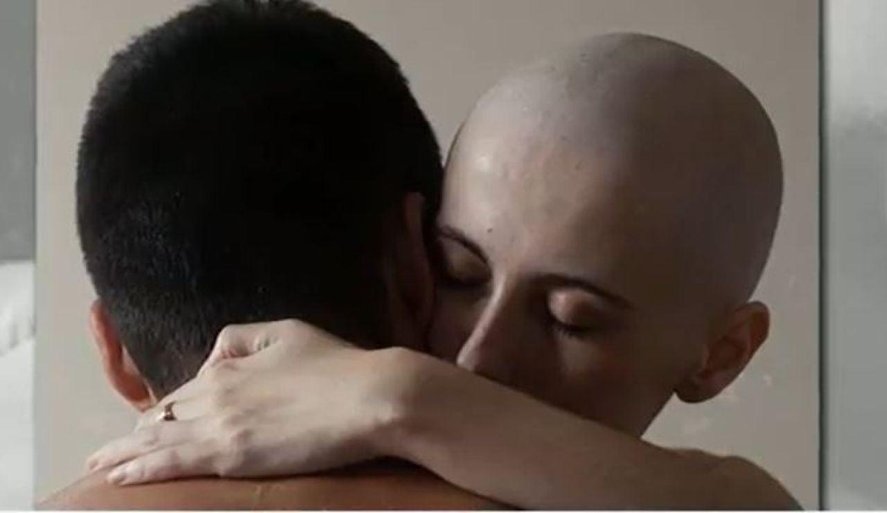 Olatz, enferma de cáncer