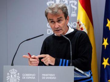 Comparecencia de Fernando Simón hoy martes 13 de octubre, streaming en directo