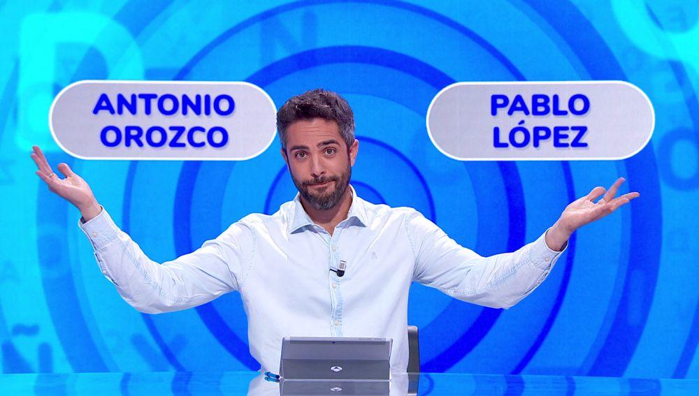 La importante decisión de Luis entre dos coaches de 'La Voz: ¿Antonio Orozco o Pablo López?