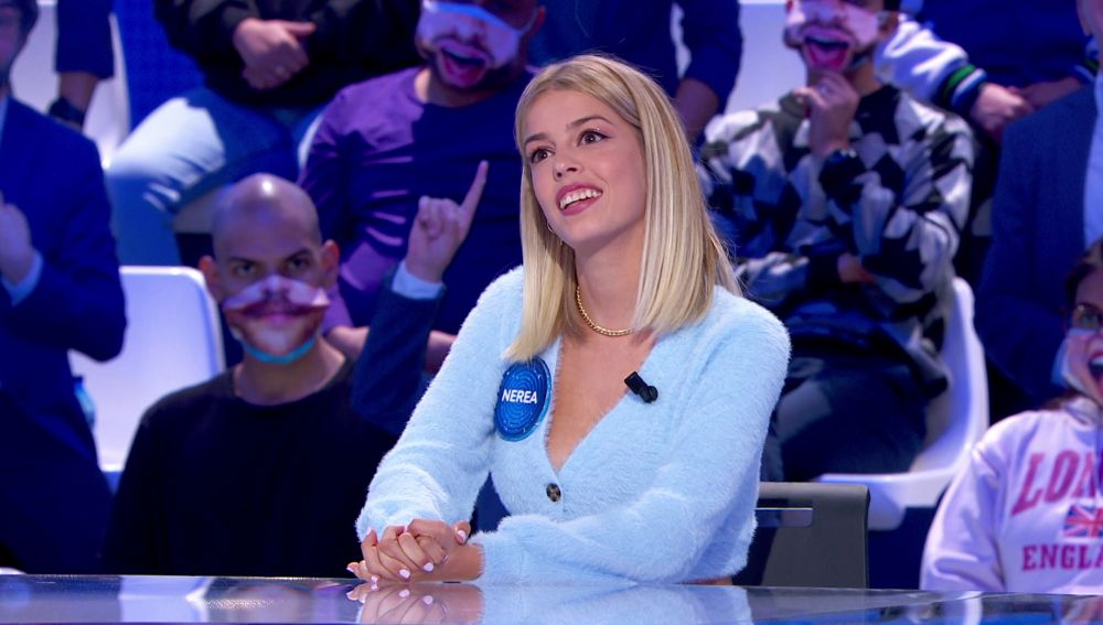 """Nerea Rodríguez desvela una gran noticia en 'Pasapalabra': """"¡Volvemos a 'Tu cara me suena'!"""