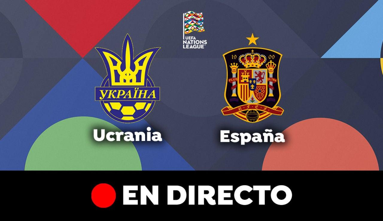 Ucrania - España: Partido de hoy de Nations League, en directo