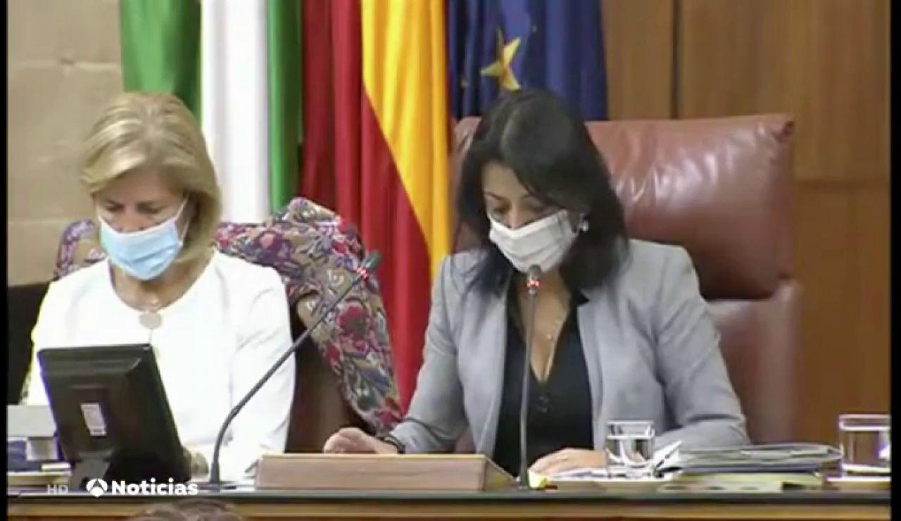 Marta Bosquet, presidenta del Parlamento de Andalucía, aislada tras dar positivo en coronavirus