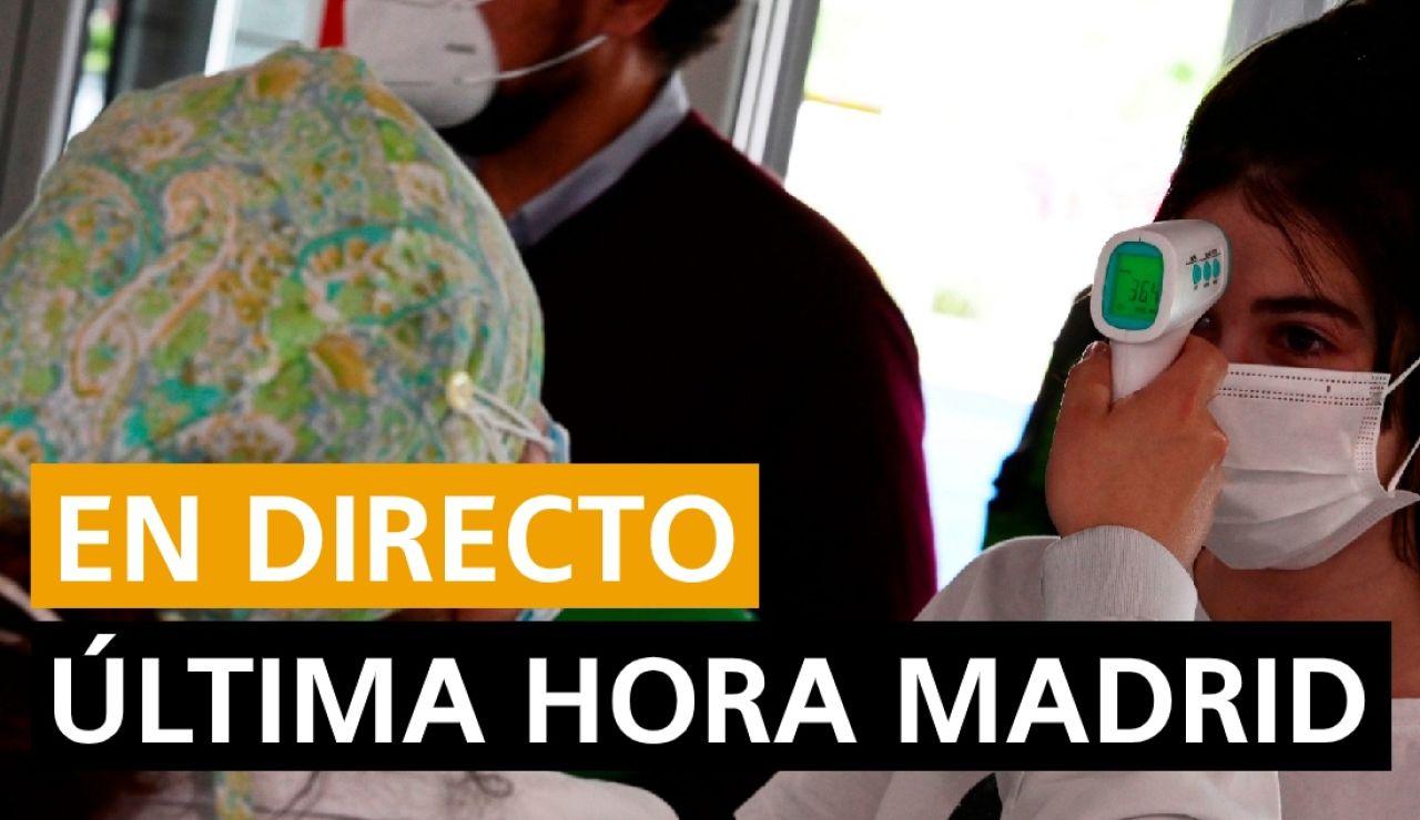 Última hora Madrid coronavirus, estado de alarma 13 de cotubre