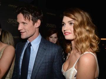 Matt Smith y Lily James