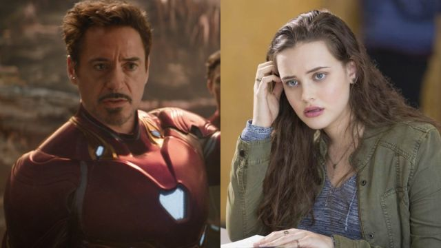 Robert Downey Jr. y Katherine Langford