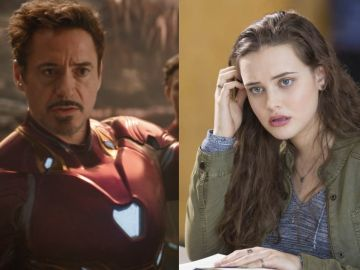 Robert Downey Jr. y Katherine Langford
